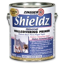 1 Gallon White Shieldz® Universal Wallcovering Primer 02501