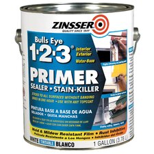Gallon Bulls Eye® 1-2-3 Primer Sealer Stain Killer 02001