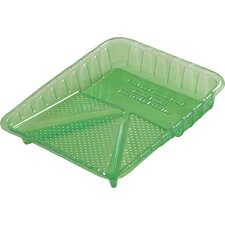 "9"" Plastic Green Paint Tray PT09028"