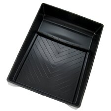 "9"" Black Plastic Paint Tray PT09027"