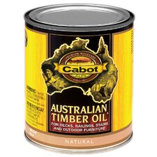 1 Quart Natural Australian Timber Oil® For Decks & Outdoor Furnitu
