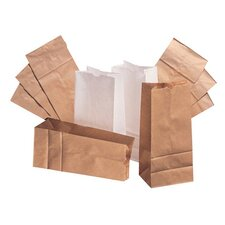 2 Kraft Paper Bag in Brown with 500 Per Bundle