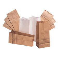 5 Kraft Paper Bag in Brown with 500 Per Bundle
