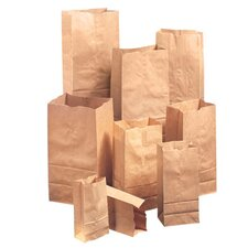 25 Squat Kraft Paper Bag in Brown