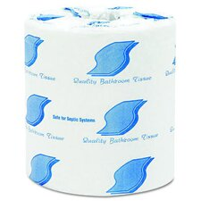 Individually Wrapped 2-Ply Bath Tissue in White