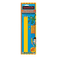Jumbo Drawing Cartoon Pencil (Set of 2)
