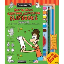 How To Draw Cartoon Flipbooks Kit