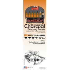Charcoal Drawing Pencil (Set of 6)
