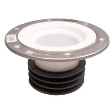 "4"" Universal Closet Flange with Stainless Steel Ring"