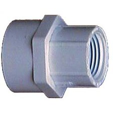 "3/4"" x 1/2"" PVC Sch. 40 Reducing Female Adapter"
