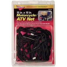 Motorcycle and ATV Cargo Net (Set of 6)