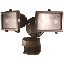 2 Light Motion Sensing Twin Security Light