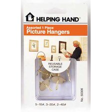 Assorted Picture Hanger Hook
