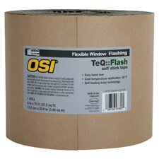 "Osi Sealants 6"" X 100"" TeQ Flash Asphalt Tape"