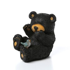 Bear and Bird Statue