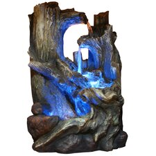 Fiberglass Tree Trunks Waterfall Fountain
