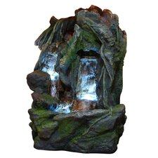 Fiberglass Waterfall Floor Fountain