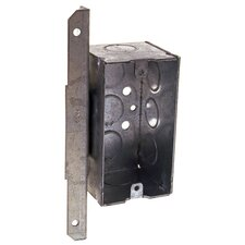 Single Gang Steel Handy Box with a Bracket