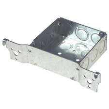 "4"" Square Box with Bracket"