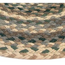 Beacon Hill Green & Beige Plaid Multi Runner Rug