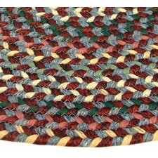 Pioneer Valley II Indian Summer Elongated Octagon Outdoor Rug