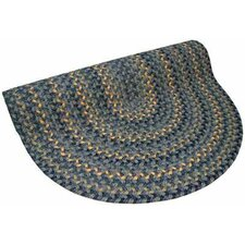 Pioneer Valley II Williamsbury Blue Multi Round Rug