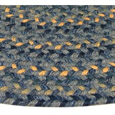 Pioneer Valley II Williamsbury Blue Multi Elongated Octagon Rug