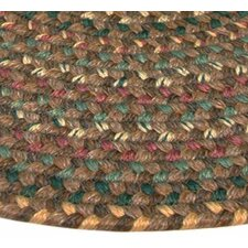 Pioneer Valley II Autumn Wheat Elongated Octagon Outdoor Rug