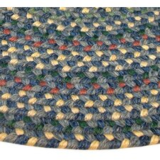 Pioneer Valley II Meadowland Blue Multi Elongated Octagon Rug