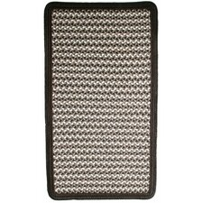 Green Mountain Fudge Brown Multi Square Rug