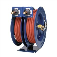 Medium Pressure Dual Hose Reel w/ Hose (3000 - 2500 psi)