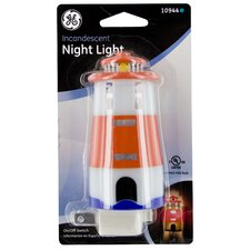 Incandescent Lighthouse Night Light