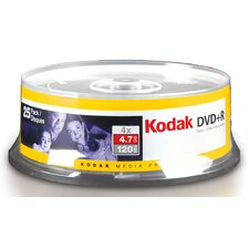 Kodak 4.7 GB Media (Pack of 25)