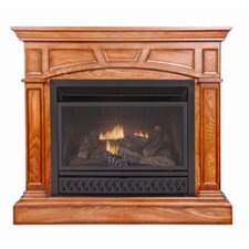 <strong>KozyWorld</strong> Heritage Dual Fuel Four-in-One Vent Free Gas Fireplace
