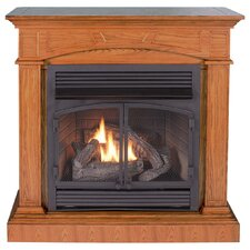 Hertiage II Dual Fuel Four-in-One Vent Free Gas Fireplace