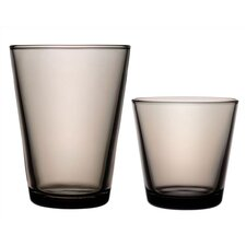 <strong>iittala</strong> Kartio Glassware Set Sand - Limited Production