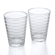 Aino Aalto 11.16 Oz. Tumblers Clear (Set of 2)