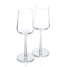 <strong>iittala</strong> Essence 11 Oz. White Wine Glasses (Set of 2)