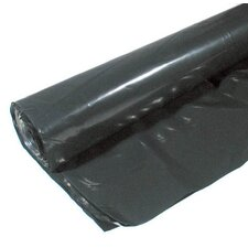 20' X 100' 6 ML Polyethylene Black Plastic Sheeting CF0620B