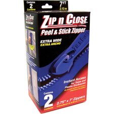 "2 Count 3"" X 7' Zip N Close® Doorway System ZC02"