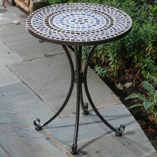 <strong>Alfresco Home</strong> Tremiti Mosaic Outdoor Bistro Table