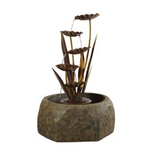 Floresta Outdoor Resin Tiered Fountain