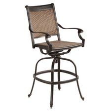 "Pilot 30"" Swivel Bar Arm Chair (Set of 2)"