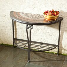 Orvieto Half Moon Console Table
