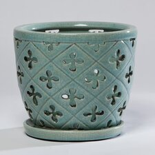 Cruz Round Orchid Pot