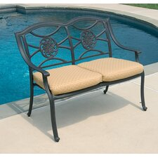 <strong>Alfresco Home</strong> Lista Outdoor Bench
