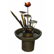<strong>Alfresco Home</strong> Laghetto Outdoor Resin Tiered Fountain