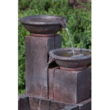 Marseille Outdoor Resin Tiered Fountain