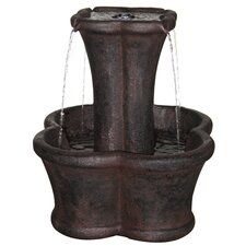 Avignon Outdoor Resin Tiered Fountain