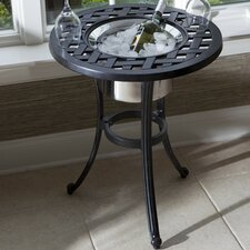 Round Beverage Side Table
